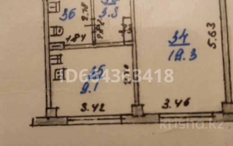 1-комнатная квартира, 38 м², Тулебаева — Макатаева за 23 млн 〒 в Алматы, Медеуский р-н