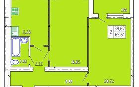 2-комнатная квартира, 65.46 м², 4/5 этаж, Мкр Нурай 7 за ~ 11.5 млн 〒 в Костанае