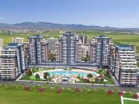 1-комнатная квартира, 35 м², 7/13 этаж, Лонг Бич за 20 млн 〒 в Искеле