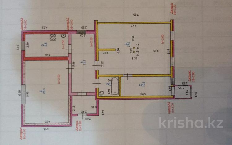 3-комнатный дом, 100 м², 4 сот., Новый город, Прохорова 17 за 14 млн 〒 в Актобе, Новый город