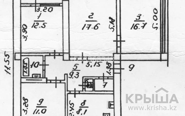 4-комнатная квартира, 81 м², 5/5 этаж, Мауленова 54 — Айтеке Би за 42.3 млн 〒 в Алматы, Алмалинский р-н