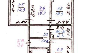 4-комнатная квартира, 104 м², 9/9 этаж, мкр Жетысу-2, Мкр Жетысу-2 76 за 35 млн 〒 в Алматы, Ауэзовский р-н