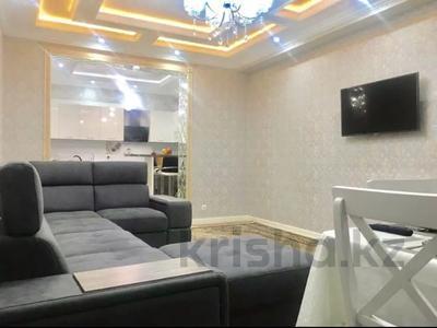 2-комнатная квартира, 100 м², 9/11 этаж посуточно, проспект Алии Молдагуловой 44 — Санкибай батыра за 14 990 〒 в Актобе