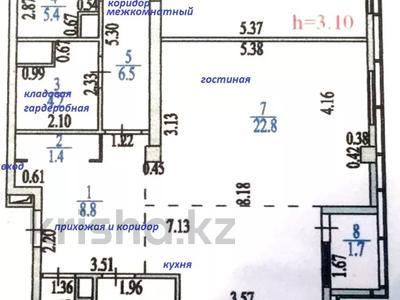 2-комнатная квартира, 90 м², 13 этаж, Динмухамеда Кунаева — Акмешит за 33.6 млн 〒 в Нур-Султане (Астана), Есиль р-н — фото 11