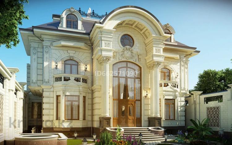 8-комнатный дом, 756 м², 8 сот., мкр Кайтпас 2, Мкр Кайтпас 2 за 50 млн 〒 в Шымкенте, Каратауский р-н
