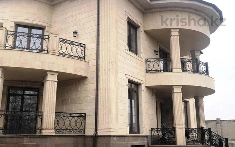 8-комнатный дом, 500 м², 12 сот., Жамакаева за 500 млн 〒 в Алматы, Бостандыкский р-н
