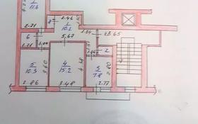 3-комнатная квартира, 60.6 м², 8/9 этаж, проспект Нурсултана Назарбаева 15 за 18 млн 〒 в Талдыкоргане