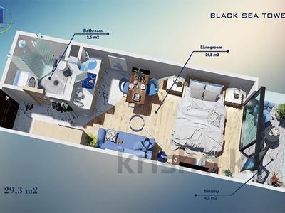1-комнатная квартира, 29.3 м², J.Shartava street 16 за ~ 10.6 млн 〒 в Батуми