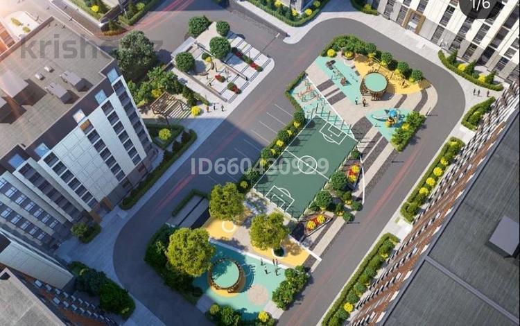 1-комнатная квартира, 40 м², 8/10 этаж, Бокейхана 25 — Мангилик за 15 млн 〒 в Нур-Султане (Астана), Есиль р-н