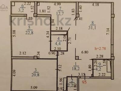 3-комнатная квартира, 120 м², 20/33 этаж, Достык за 50 млн 〒 в Нур-Султане (Астана), Есиль р-н — фото 25