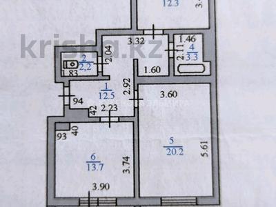 2-комнатная квартира, 68 м², 5/10 этаж, Момышулы 13 а — Тауелсиздик за 20.6 млн 〒 в Нур-Султане (Астана), Алматы р-н — фото 7