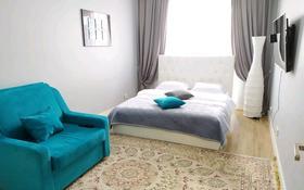 1-комнатная квартира, 38 м², 9/9 этаж посуточно, Абая 130 — Розыбакиева за 12 000 〒 в Алматы
