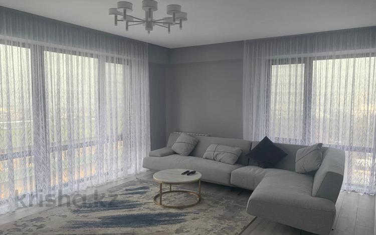 4-комнатная квартира, 120 м², 12/16 этаж, мкр Коктем-3, Мусрепова 22 за 78.5 млн 〒 в Алматы, Бостандыкский р-н