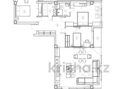 3-комнатная квартира, 112 м², 3/3 этаж, Прозрачная 35 за 70 млн 〒 в Сочи — фото 4
