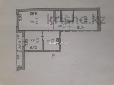 2-комнатная квартира, 54.6 м², 4/5 этаж, 8 мкр 16 за 14 млн 〒 в Костанае — фото 17