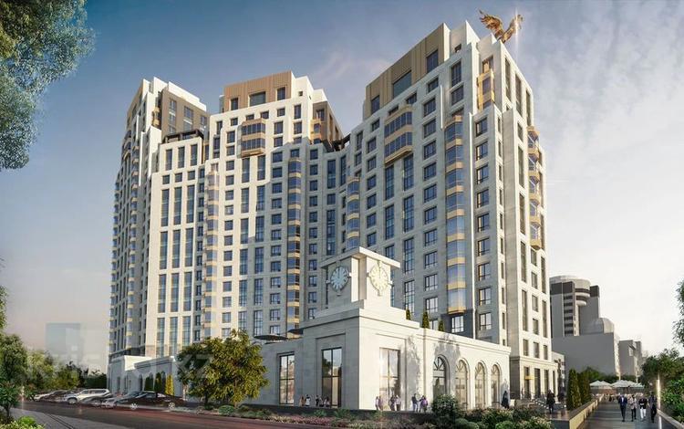 3-комнатная квартира, 116.6 м², Макатаева 2 — Наркесен за ~ 57.4 млн 〒 в Нур-Султане (Астана)