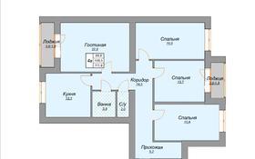 4-комнатная квартира, 111.9 м², 7/9 этаж, Муканова 80 А — Таттимбета за ~ 27.4 млн 〒 в Караганде, Казыбек би р-н