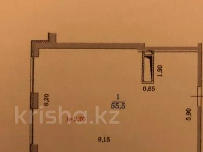 1-комнатная квартира, 55 м², 8/10 этаж, Казыбек Би — Барибаева за 25.9 млн 〒 в Алматы, Медеуский р-н — фото 2