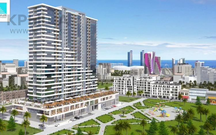 1-комнатная квартира, 32 м², 7/25 этаж, Багратиони за 11.7 млн 〒 в Батуми
