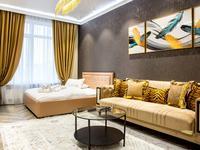 1-комнатная квартира, 50 м², 7/12 этаж посуточно, Алиби Жангелдин 67 за 20 000 〒 в Атырау