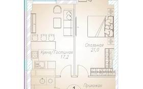1-комнатная квартира, 54.7 м², 4/10 этаж, Байтурсынова 177 за ~ 26.5 млн 〒 в Алматы, Бостандыкский р-н