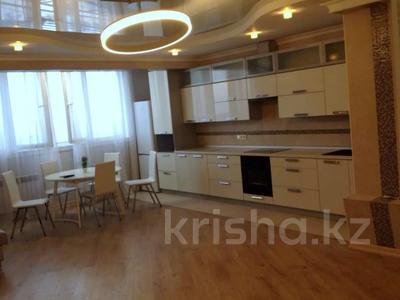 2-комнатная квартира, 90 м², 17/18 этаж помесячно, Розбакиева 289 за 230 000 〒 в Алматы