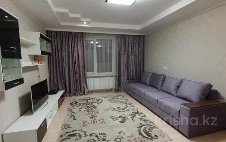 2-комнатная квартира, 61 м², 6/18 этаж помесячно, Брусиловского 167 за 200 000 〒 в Алматы, Алмалинский р-н