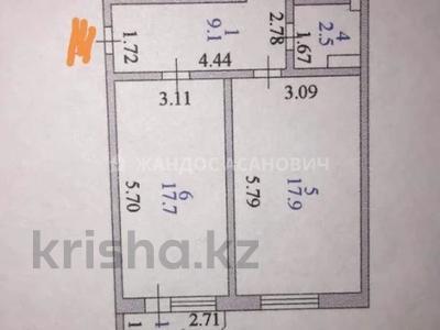2-комнатная квартира, 60 м², 4/9 этаж, Керей и Жанибек хандар за ~ 20 млн 〒 в Нур-Султане (Астана), Есиль р-н — фото 7