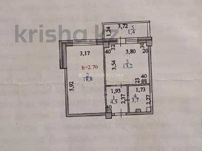 1-комнатная квартира, 42 м², 3/13 этаж, Сатпаева 20 за 14.2 млн 〒 в Нур-Султане (Астана), Алматы р-н — фото 6