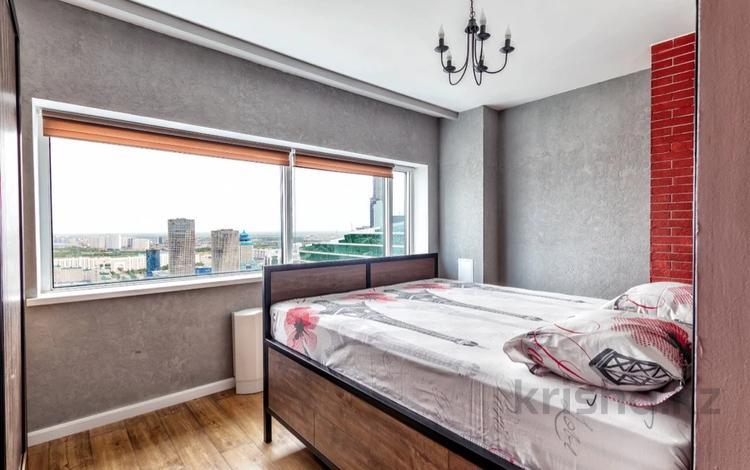 1-комнатная квартира, 42 м², 39/41 этаж посуточно, Достык 5/1 — Достык сауран за 15 000 〒 в Нур-Султане (Астана), Есиль р-н