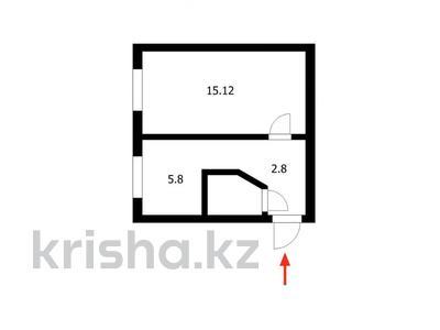 1-комнатная квартира, 30 м², 1/5 этаж, Бейбитшилик 77 за 7.5 млн 〒 в Нур-Султане (Астана), Сарыарка р-н — фото 7