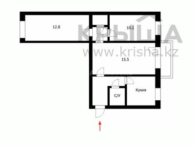 3-комнатная квартира, 55 м², 3/5 этаж, Сакена Сейфуллина 29 за 14.8 млн 〒 в Нур-Султане (Астана), Сарыарка р-н — фото 22