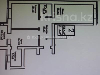 2-комнатная квартира, 61 м², 5/8 этаж, Е-809 1 за 24.2 млн 〒 в Нур-Султане (Астана) — фото 2