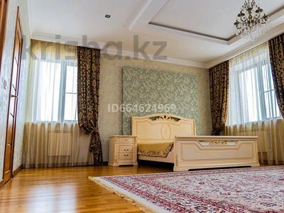 4-комнатный дом посуточно, 550 м², Комсомольский, улица Тумар Ханым 45 за 130 000 〒 в Нур-Султане (Астане), Есильский р-н