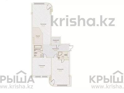 3-комнатная квартира, 118 м², Назарбаева — Хаджимукана за ~ 89.7 млн 〒 в Алматы, Медеуский р-н — фото 2