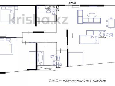 3-комнатная квартира, 130 м², 3/12 этаж, Манаса 24В — проспект Абая за ~ 47.3 млн 〒 в Алматы, Бостандыкский р-н — фото 3