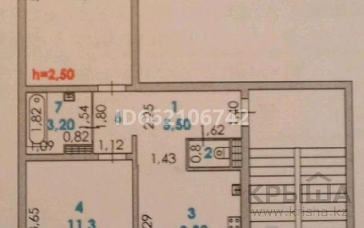 2-комнатная квартира, 51.2 м², 2/5 этаж, Авангард-4 за 19 млн 〒 в Атырау, Авангард-4