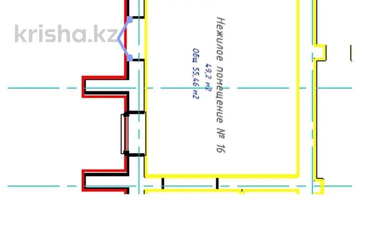 Помещение площадью 55.46 м², проспект Кабанбай Батыра — Хусейн бен Талал за ~ 18.9 млн 〒 в Нур-Султане (Астана), Есиль р-н