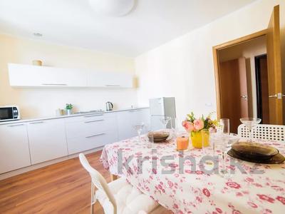 1-комнатная квартира, 50 м², 22/25 этаж посуточно, Каблукова 38Г за 12 000 〒 в Алматы, Бостандыкский р-н