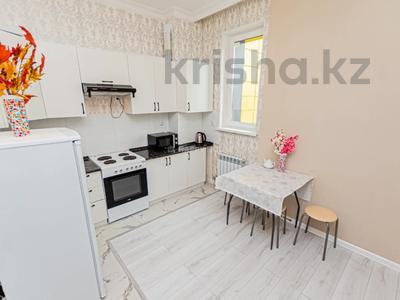 1-комнатная квартира, 40 м², 5/24 этаж посуточно, Туркестан 14А — Орынбор за 8 000 〒 в Нур-Султане (Астане), Есильский р-н