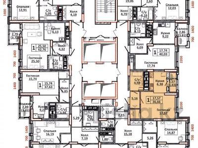 1-комнатная квартира, 37 м², 5/24 этаж, проспект Кабанбай Батыра 48/5 — Орынбор за ~ 14.6 млн 〒 в Нур-Султане (Астана), Есиль р-н — фото 3