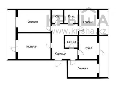 4-комнатная квартира, 101.6 м², 11/12 этаж, Е-10 2 за 29 млн 〒 в Нур-Султане (Астана), Есиль р-н — фото 2