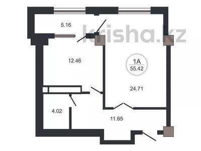 1-комнатная квартира, 55 м², 3/10 этаж, Назарбаева — Маметовой за 20 млн 〒 в Алматы, Медеуский р-н — фото 3