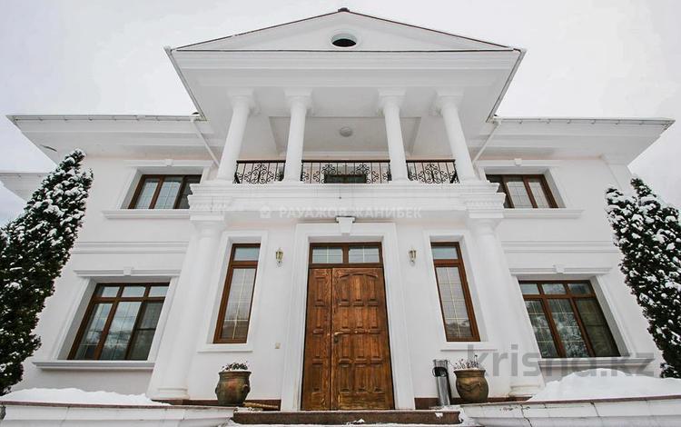 8-комнатный дом, 685 м², 19 сот., Мухаммед Хайдар Дулати — Аль-Фараби за 290 млн 〒 в Алматы, Бостандыкский р-н