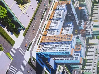 3-комнатная квартира, 87.32 м², 9/23 этаж, Айнакол 66/1 — Сарыкол за ~ 21.4 млн 〒 в Нур-Султане (Астане)