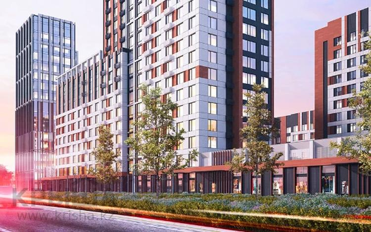 1-комнатная квартира, 41.29 м², 4/9 этаж, Туран за ~ 13.9 млн 〒 в Нур-Султане (Астана), Есиль р-н