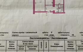 2-комнатная квартира, 63 м², 9/10 этаж, мкр 12 60 за 14.5 млн 〒 в Актобе, мкр 12