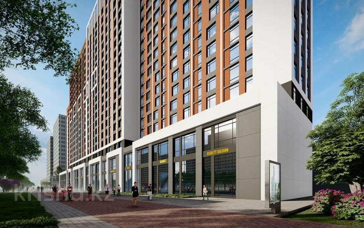 2-комнатная квартира, 59 м², 5/19 этаж, Кабанбай батыра 51 за ~ 16.3 млн 〒 в Нур-Султане (Астана)