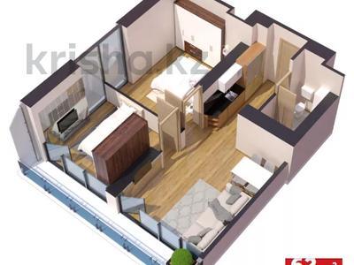 3-комнатная квартира, 62 м², 15/45 этаж, Химшиашвили 7 за ~ 32.1 млн 〒 в Батуми — фото 2