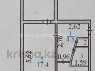 2-комнатная квартира, 46 м², 3/5 этаж, Александра Кравцова за 16 млн 〒 в Нур-Султане (Астане), р-н Байконур